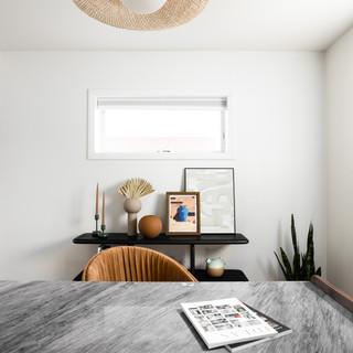 2-Minimalist Ceiling Light-Pot Painting-
