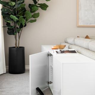 21-Scandinavian living room-wooden decor