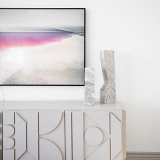 8-marble sculpture-geometric sideboard-g