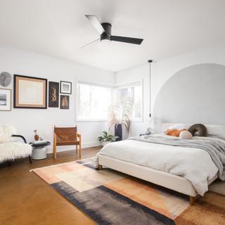 3-Vintage Desert Bedroom-Fuzzy Chair-Wal