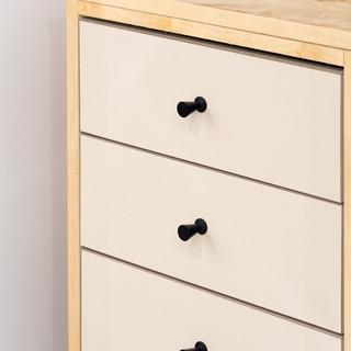 19-vintage modern-black cabinet handles-