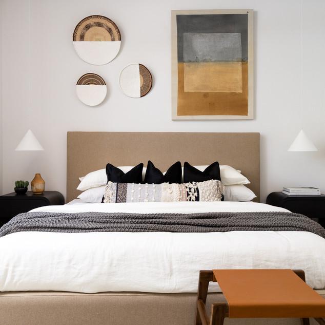 12-mid century modern bedroom-desert bed