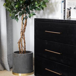 45-black dresser-modern dresser-faux pla