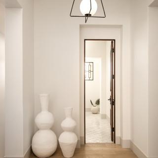 12-scandinavian modern home-modern hallw