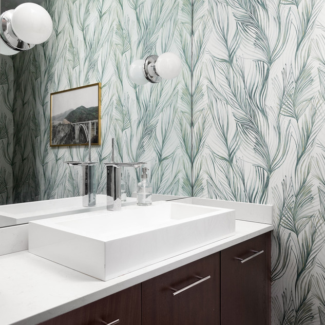 43-bathroom accent wall-tropical wall pa