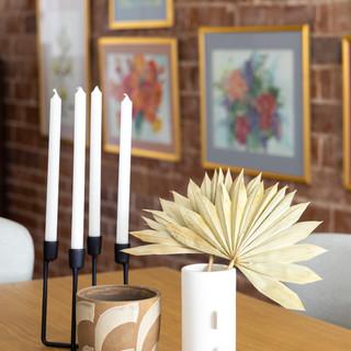 34-Vintage Desert Dining Room-Black Cand