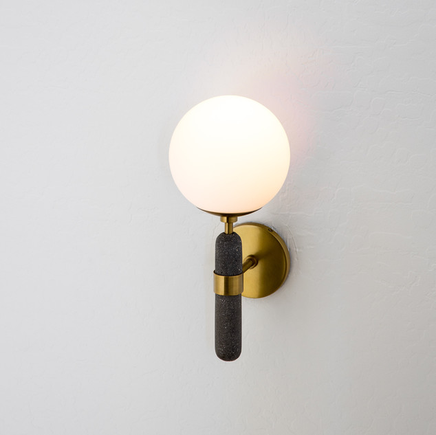 48-modern sconce-black and white interio