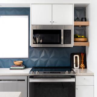7-Mid Century Modern-Modern Kitchen-Glaz