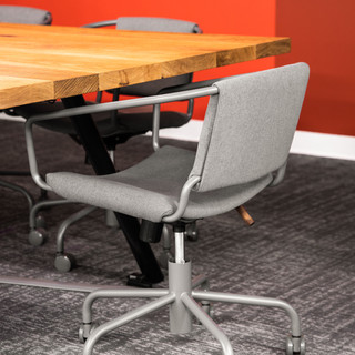 6-industrial modern conference room-oak