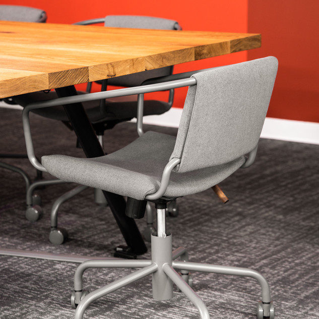6-industrial modern conference room-oak