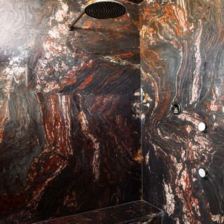 69-modern shower-marble shower-rain show
