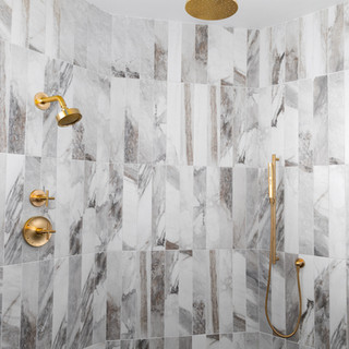 3-scandinavian modern shower-modern walk