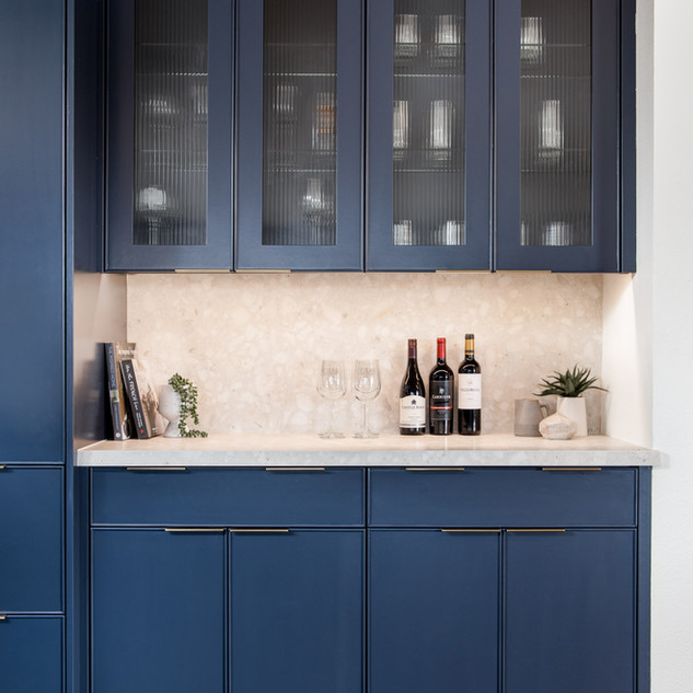 6-industrial modern kitchen-blue kitchen