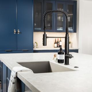 4-industrial modern kitchen-blue kitchen