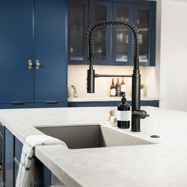 4-industrial modern kitchen-blue kitchen