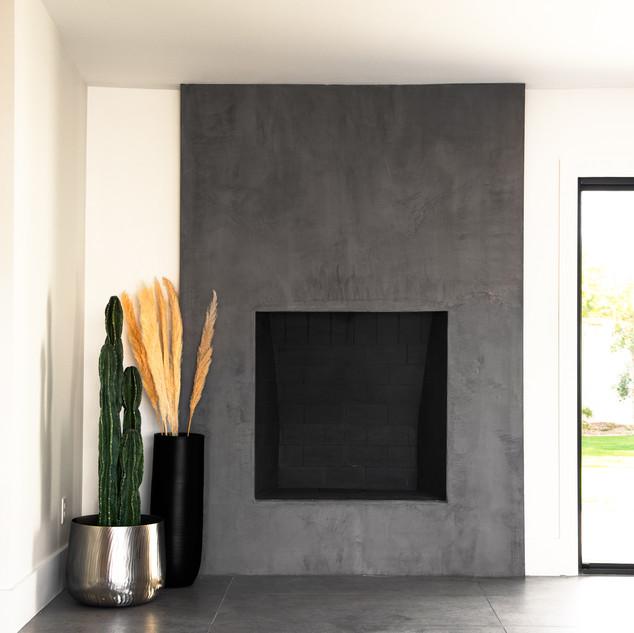 5-modern scandinavian home-concrete fire