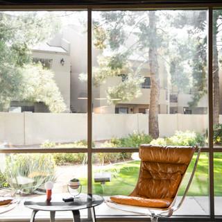 33-industrial modern office-window wall-