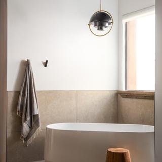 67-freestanding tub-modern desert bathro