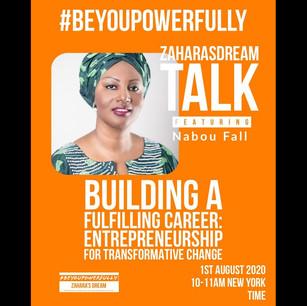 #BeYouPowerfully Talk: Entrepreneurship for Transformative Change