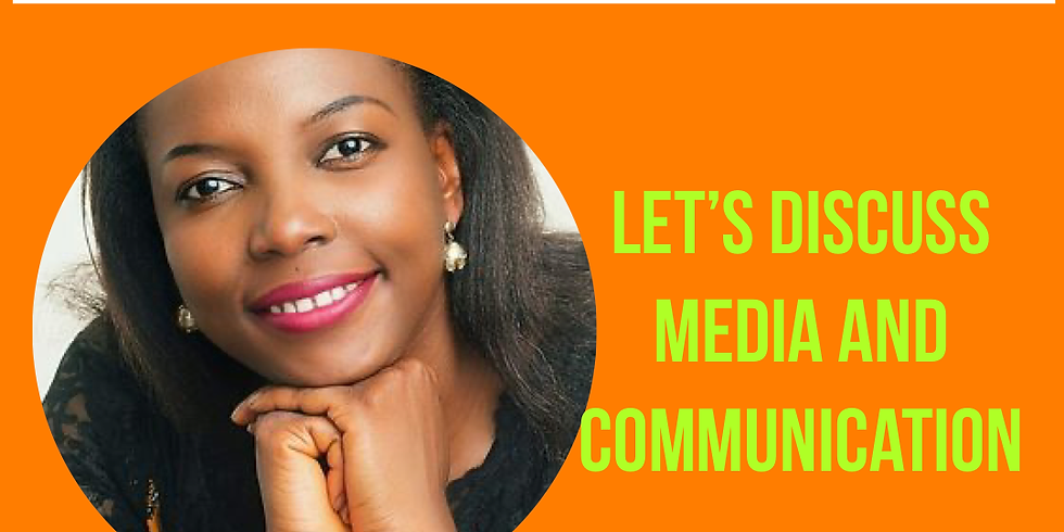 Zahara's Dream #Sisterskeepers Talk: Lets discuss Media and Communication