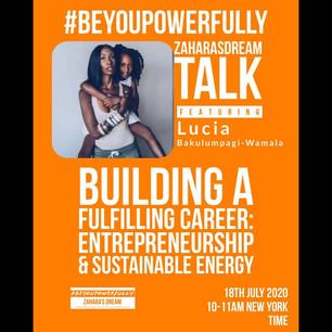 #BeYouPowerfully in Entrepreneurship and Sustainable Energy