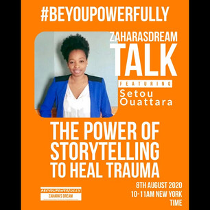 #BeYouPowerfully: The Power of Storytelling to Heal Trauma
