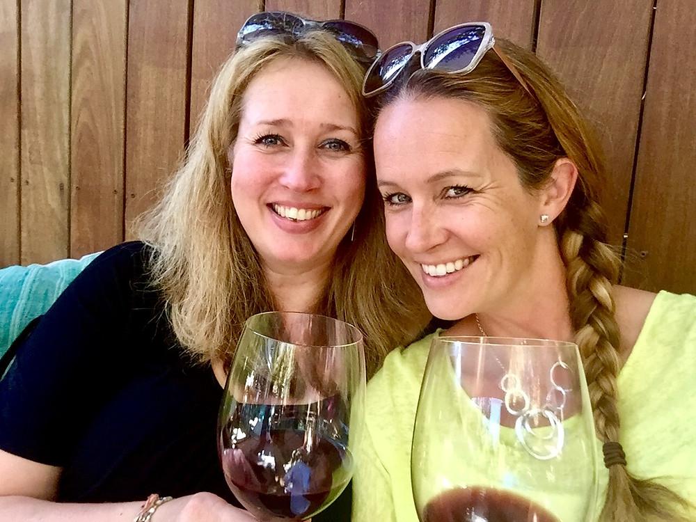 Samen met Marieke, een van mijn beste vriendinnen die in LA woont.