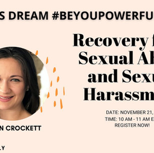 Zahara's Dream #BeYouPowerfully Talk: Recovery from Sexual Abuse and Sexual Harassment