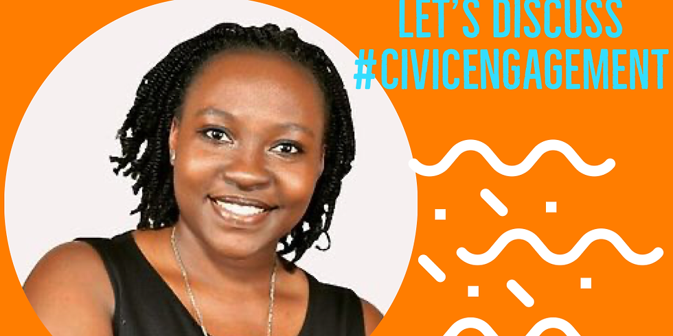 Join Zahara's Dream Sisterkeeper Jackie R. Mayega to discuss building Positive Change through #CivicEngagement