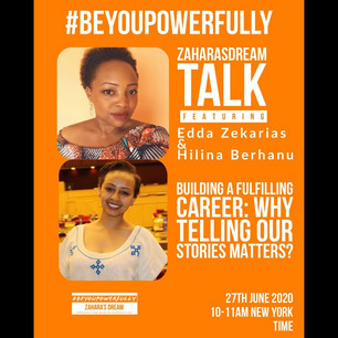 #BeYouPowerfully: Why Telling Our Stories Matters?