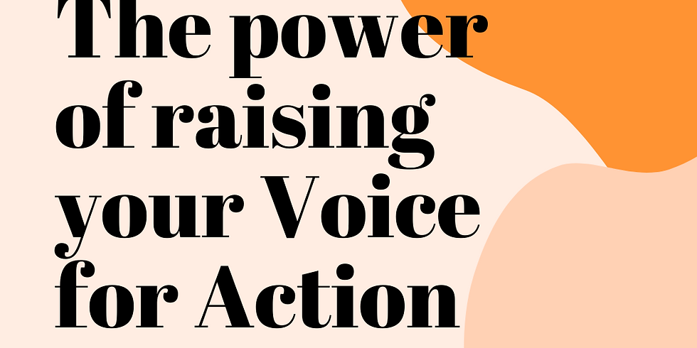 #BeYouPowerfully Talk: The Power of Raising Your Voice for Action