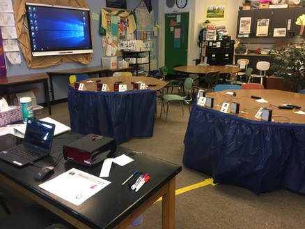 The Chugach Regional Resources Commission VISTA served as Science Judge for the Tsunami Bowl.