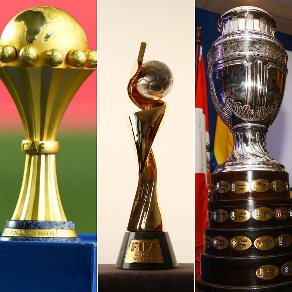 Trophées des compétitions majeures juin 2019