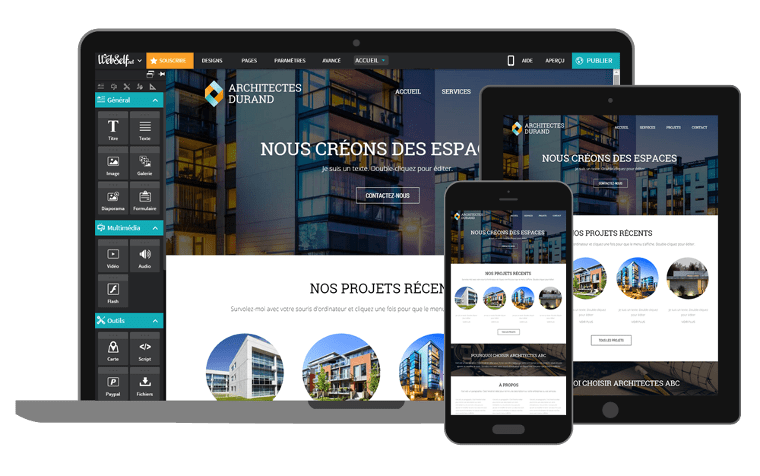 Création/Optimisation de Site Web