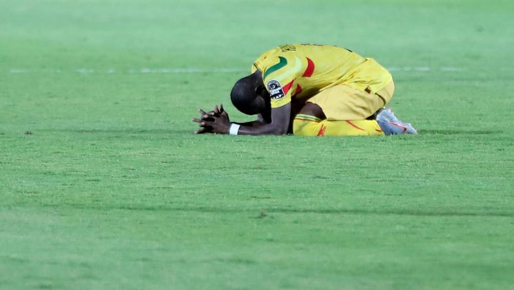 Le Malien Hamari Traore déçu après l'élimination de son équipe de la CAN 2019. REUTERS/Sumaya Hisham