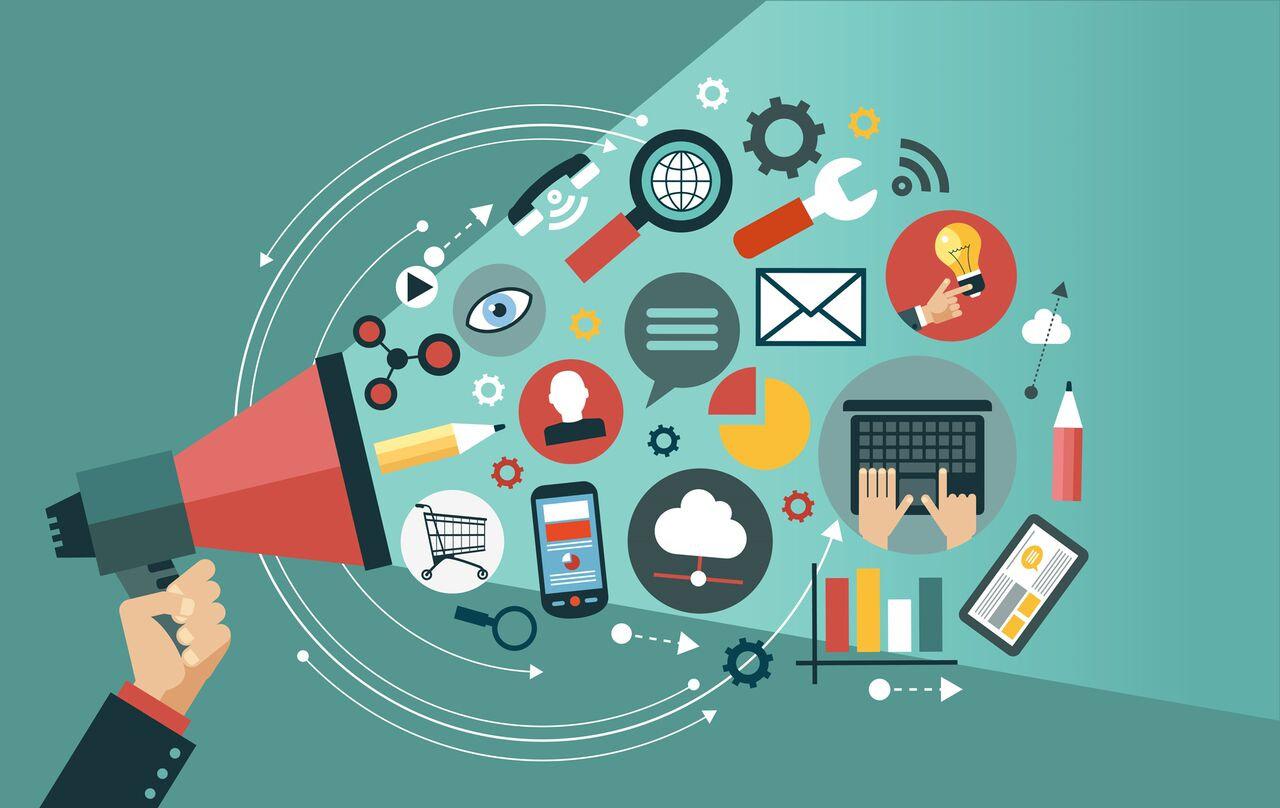 Publicité réseaux sociaux et site web