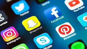 icônes réseaux sociaux