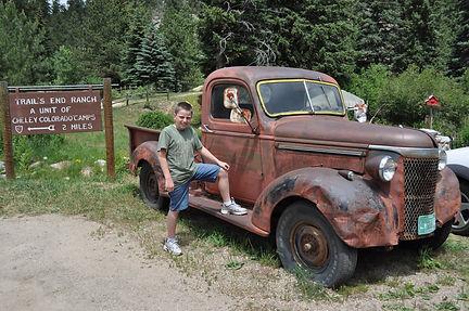 Josh on Truck.JPG