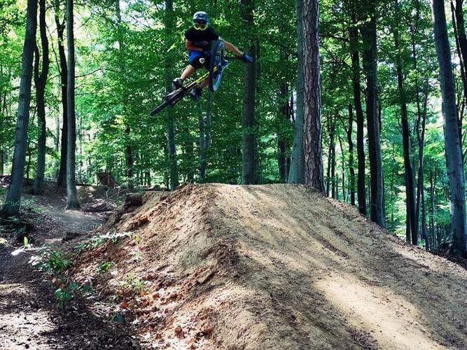Downhill-Strecke