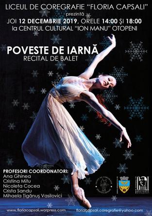 POVESTE DE IARNA - Recital de Balet