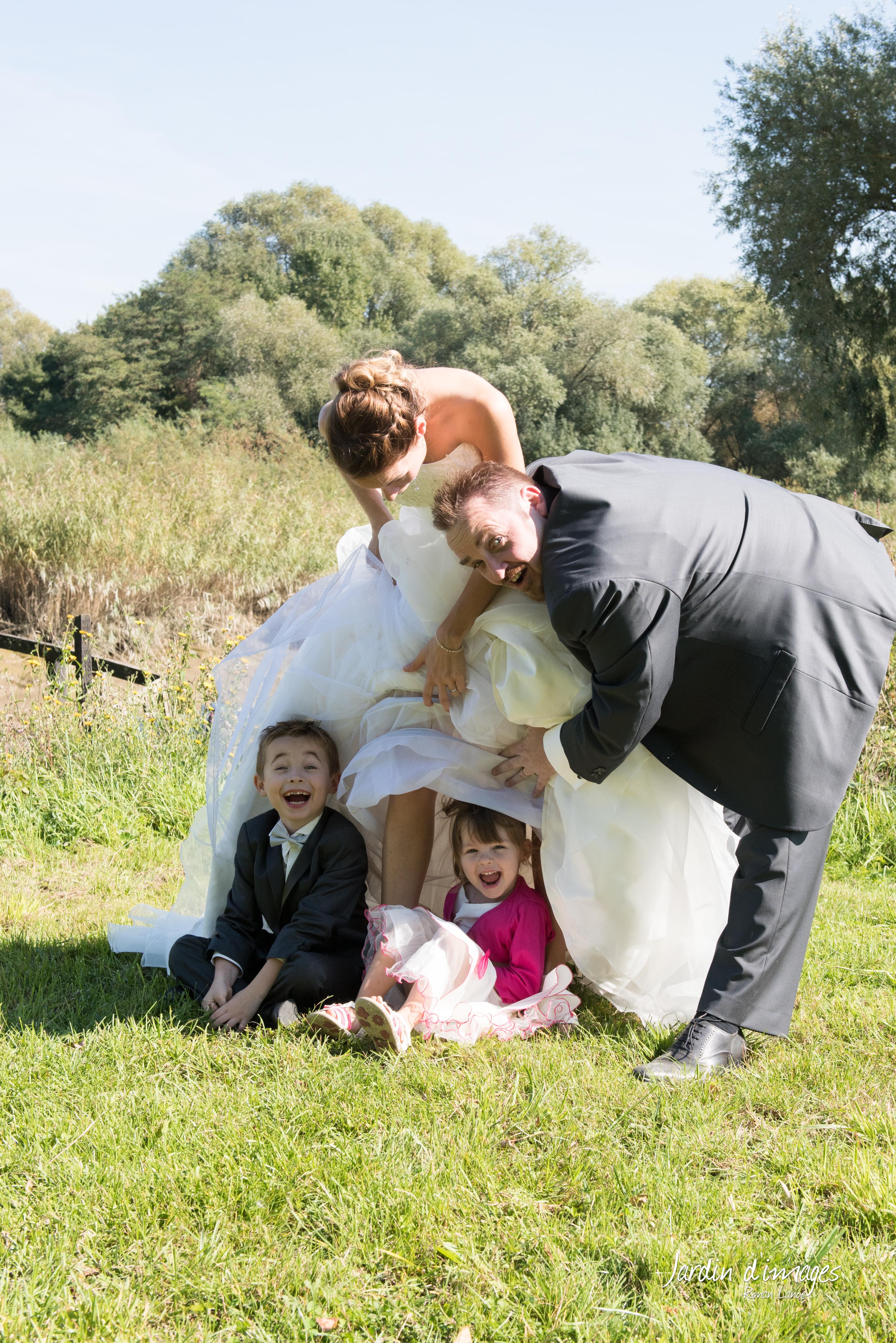 enfants mariage photographe