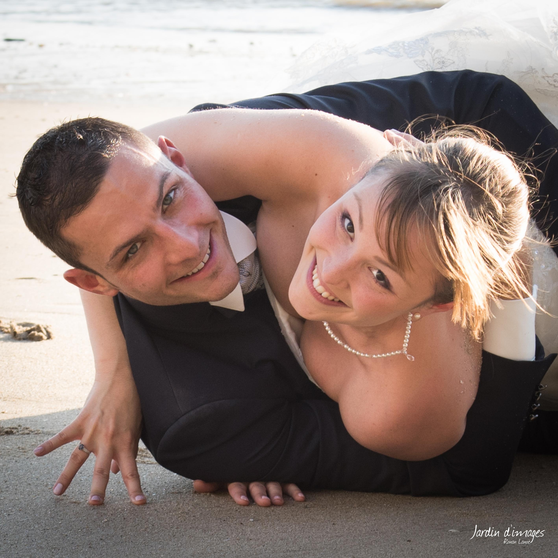 photos mariage sable