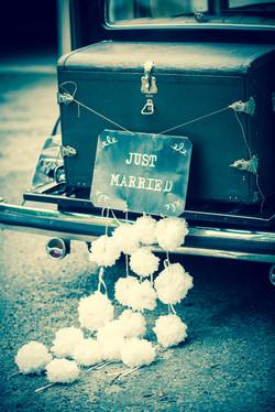 deco voiture photot mariage