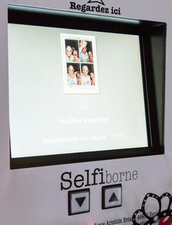 selfiborne 1,2 ou 4 photos