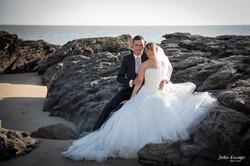 photo mariage rocher