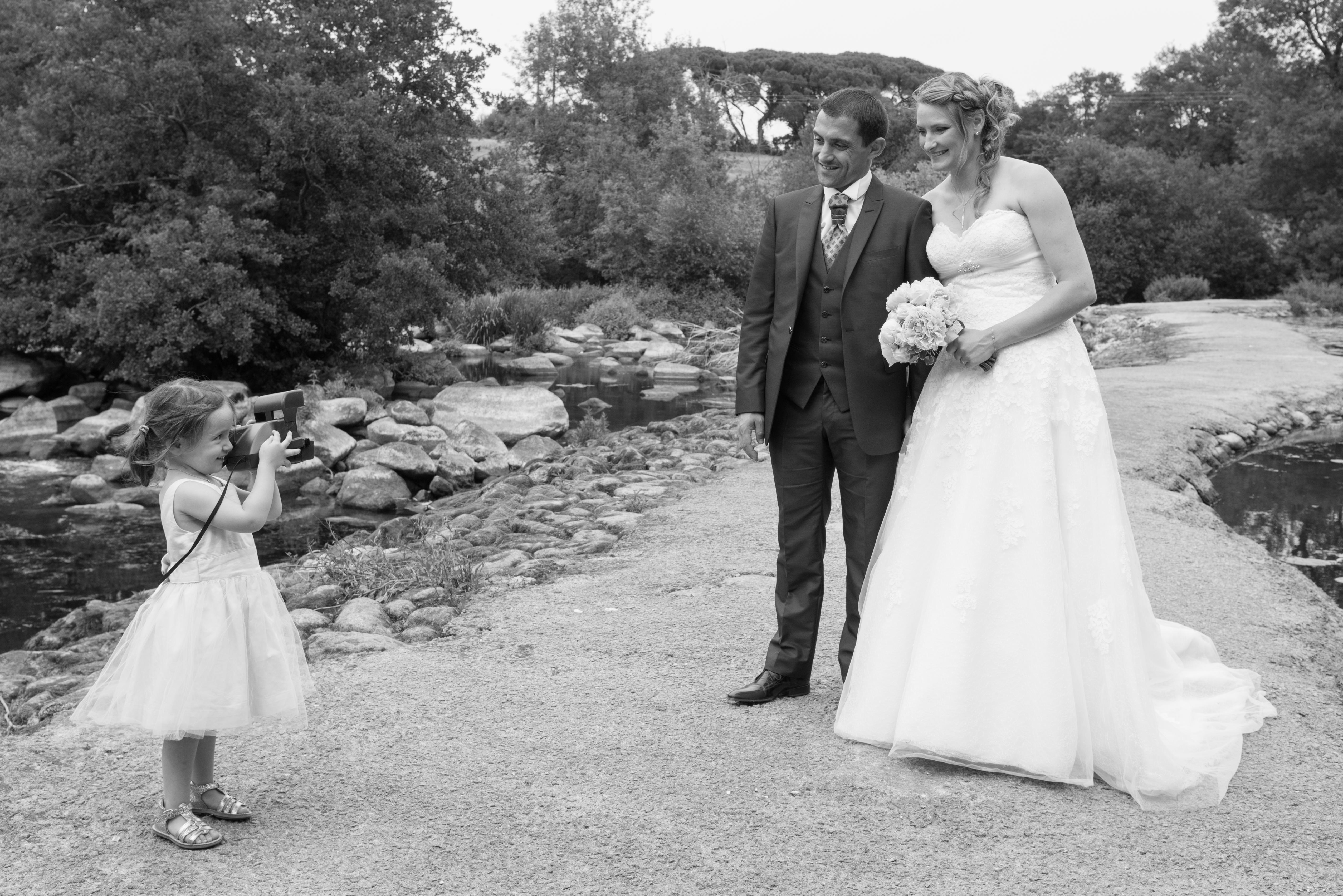 photographe mariage polaroid