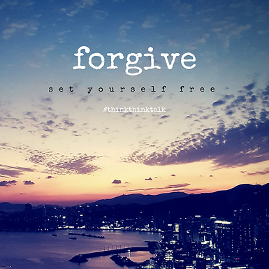 Let's talk about…Forgiveness 용서