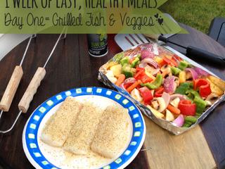 One Week: Easy, Healthy Meals