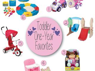 Toddler One-Year Favs