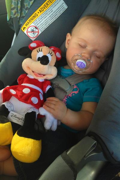 Bringing Minnie home